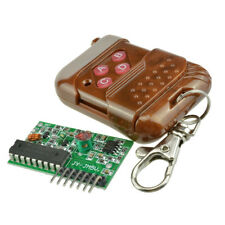 IC 2262/2272 4 CH Key 315/433MHZ Wireless Remote Control Receiver module ASS