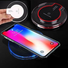 New Qi Wireless Fast Charger Charging Pad for Samsung Note 8 iPhone X 8 7 6 LG