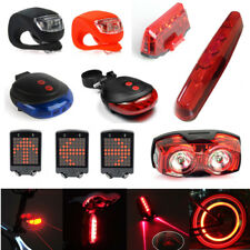 Waterproof Bicycle Bike Front Rear Tail Light Lamp LED USB Safety