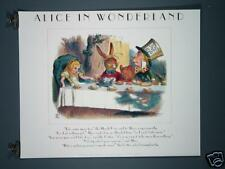 Alice in Wonderland Ltd.Edt. Print 1990 Tea Party