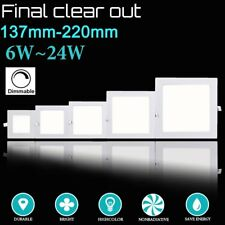6-24W Dimmable LED Recessed Ceiling Panel Down Lights Bulb Lamp F Indoor Home MX