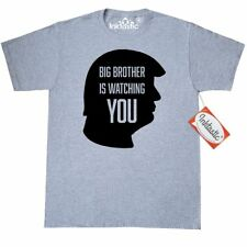 Inktastic Big Brother Is Watching You-silhouette T-Shirt 1984 Trump President