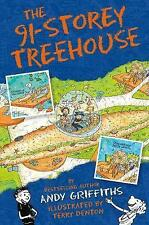 7+ Story Book - Treehouse Book: THE 91 STOREY TREEHOUSE by Andy Griffiths - NEW