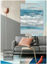 Hand Painted Abstract Oil Painting on Canvas Wall Art