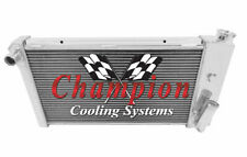 Champion Cooling  3 Row All Aluminum Replacement Radiator, CC432 (Fits: Vega)