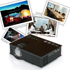 UC40+Pro 1080P LED Room Theater Cinema Game Projector HD 1080P HDMI VGA USB Play