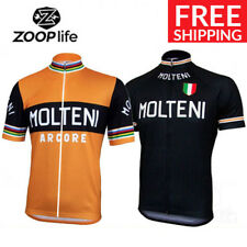 Vintage Team Molteni Retro Cycling Jersey Eddy Merckx