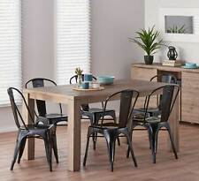 NEW Toronto 7 Piece Dining Set with Worx Chairs By Fantastic Furniture