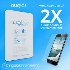 2x Genuine NUGLAS Tempered Glass Screen Protector for iphone 6s plus 6 Plus Lot