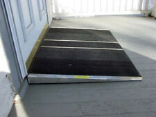 Curb or Threshold Access Ramps Self Supporting Aluminum Wheelchair Mobility Ramp