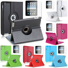 PU Leather 360° Rotating Protective Case for Apple iPad 2/3 (Nouvel iPad) / 4