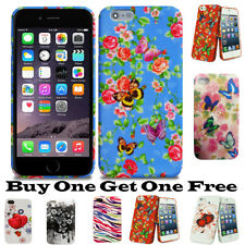 Apple iPhone 4 4g 4s Back Flower Silicon Gel Printed Flowers Design Case Cover