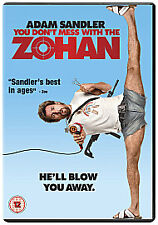 You Don't Mess With The Zohan (DVD, 2009)