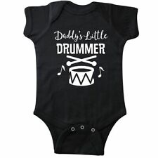 Inktastic Daddys Little Drummer Childs Music Gift Infant Creeper Drumline Future