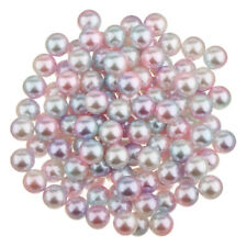 Mixedcolor Imitation Pearl Round Loose Beads Jewelry Finding Making Charms Craft