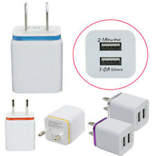 KE_US/EU Universal Home Dual Port AC USB Wall Charger for iPhone Smartphones Rel