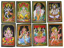 Indian God Lord Hindu Wall Hanging Home Tapestry Poster Art Hippy Cotton