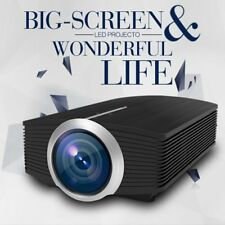 YG500 1080P HD LED Projector Home Theater Cinema LCD HDMI AV VGA Multimedia BS