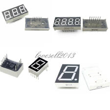 7 Segment 0.56/1.8/0.36 /0.5inch 1/3/4 Digit Common Cathode/Anode Led Display LO