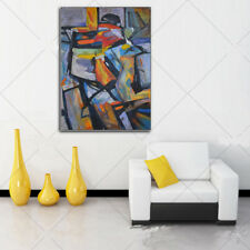 Hand Painted Abstract Oil Painting on Canvas Wall Art 71