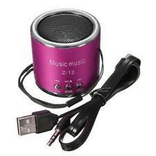 Portable Hifi Mini Speaker FM Radio Micro Amplifier USB SD TF Card iPod MP3 PC