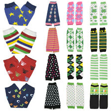 Baby Girl Toddler Stripe Dots Flower Arm Leg Warmers Cotton Cute Socks Tights