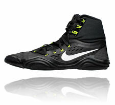 NIKE HYPERSWEEP MENS WRESTLING SHOES BLACK / VOLT