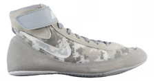 NIKE SPEEDSWEEP VII 7 MENS WRESTLING SHOES GREY CAMO / PLATINUM / WHITE