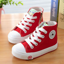 Children Canvas Causal Shoes Girls Boys Sneakers Kids School Sport Running Shoes