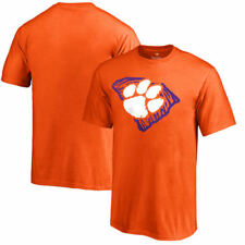 Clemson Tigers Youth Orange Paw State Hometown Collection T-Shirt