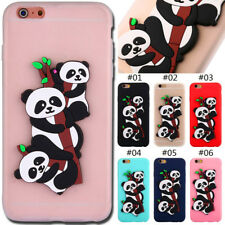 For Apple iPhone 6 Plus/6S Plus 3D Cover Silicone TPU Rubber Soft Back Skin Case