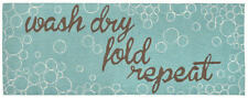 """AREA RUGS - """"LAUNDRY DAY"""" INDOOR OUTDOOR RUG - 24"""" x 60"""" or 27"""" x 72"""" RUNNER"""
