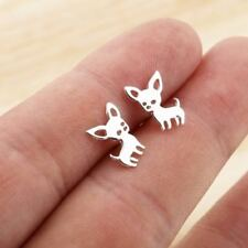 Cute Women Christmas Pet Chihuahua Jewelry Ear Accessories Dog Stud Earring
