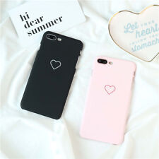 Love Heart Phone Cases Cover For Samsung Galaxy iphone 5 6 7 8 Plus Couple Case