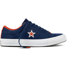 Converse One Star Navy Suede Trainers