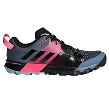 adidas Kanadia 8.1 Trail Womens Running Trainer Shoe Black/Grey/Pink