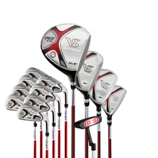 Men's Woman Ladies Golf Set 13 Piece Graphite Driver And Steel Shafted With Iron
