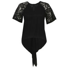 French Connection Taza Lace Top Black