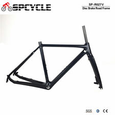700C Carbon Cyclocross Bicycle Frame Full Carbon Disc Brake Road Bike Frames BSA