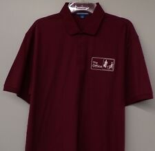 The Office TV Show Embroidered Mens Polo XS-6XL, LT-4XLT Dunder Mifflin New