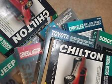 Chilton's Manual Buick Acura GM Jeep Toyota Ford Mercury VW Mazda Dodge Nissan