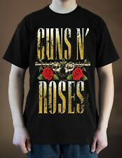 GUNS N' ROSES Band Logo ver. 1 T-Shirt  (Black) S-5XL