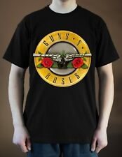 GUNS N' ROSES Band Logo ver. 5 T-Shirt  (Black) S-5XL