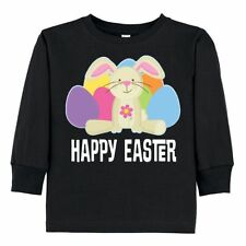 Inktastic Happy Easter Bunny Holiday Eggs Toddler Long Sleeve T-Shirt Rabbit Hws