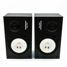 Studiospares SN10 Passive Studio Monitors (with Amplifier and Cables)