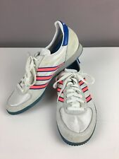 ADIDAS ADIRACER INDOOR ATHLETIC RUNNING SHOES VTG 80'S AUTHENTIC MENS 10 RARE!