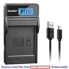 Kastar Battery LCD USB Charger for Sony NP-BK1 BC-CSK & Sony Cyber-shot DSC-S950