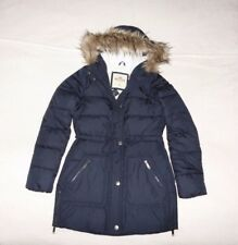Womens Hollister by Abercrombie & Fitch Quilted Fur Hoodie Jacket Size XS, S,