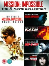 Mission Impossible 1 / 2 / 3 / Ghost Protocol / Rogue Nation DVD NEW dvd (830564