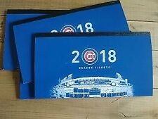 2 VIP Bleacher Tickets Chicago Cubs vs Brewers  04/28/2018 (4 available)